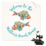 Mosaic Fish Sublimation Transfer