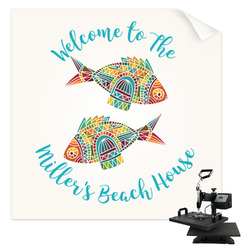 Mosaic Fish Sublimation Transfer