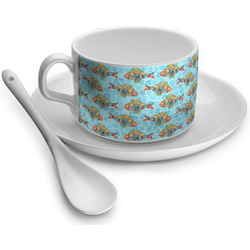 Mosaic Fish Tea Cups (Personalized)