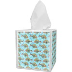 Mosaic Fish Tissue Box Cover (Personalized)
