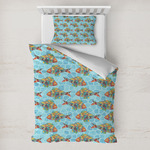 Mosaic Fish Toddler Bedding