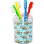 Mosaic Fish Toothbrush Holder (Personalized)
