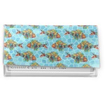 Mosaic Fish Vinyl Checkbook Cover