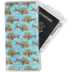 Mosaic Fish Travel Document Holder
