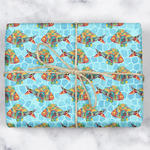 Mosaic Fish Wrapping Paper