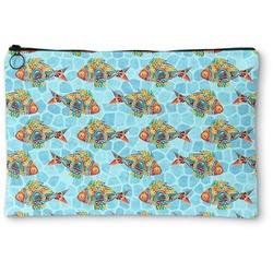 Mosaic Fish Zipper Pouch (Personalized)
