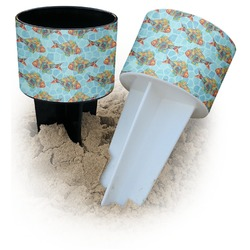 Mosaic Fish Beach Spiker Drink Holder (Personalized)