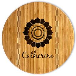Sunflowers Bamboo Cutting Board (Personalized)