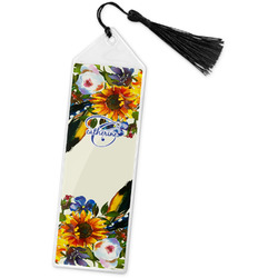 Sunflowers Book Mark w/Tassel (Personalized)