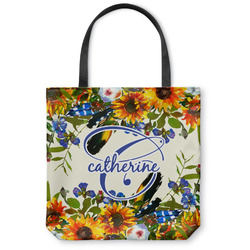 Sunflowers Canvas Tote Bag (Personalized)
