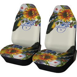 Sunflowers Car Seat Covers (Set of Two) (Personalized)
