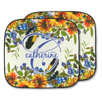 Sunflowers Car Sun Shade - Two Piece (Personalized)