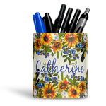Sunflowers Ceramic Pen Holder