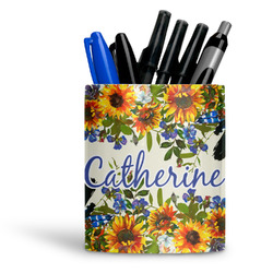 Sunflowers Ceramic Pen Holder