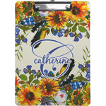 Sunflowers Clipboard (Personalized)