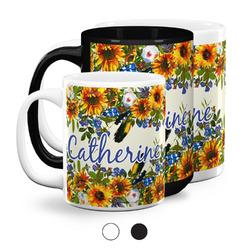 Sunflowers Coffee Mugs (Personalized)