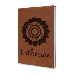 Sunflowers Leatherette Journal (Personalized)