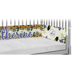 Sunflowers Crib Bumper Pads (Personalized)