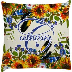 Sunflowers Decorative Pillow Case (Personalized)