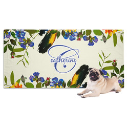 Sunflowers Dog Towel (Personalized)