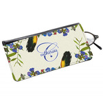 Sunflowers Genuine Leather Eyeglass Case (Personalized)