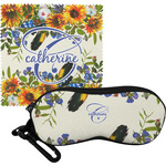 Sunflowers Eyeglass Case & Cloth (Personalized)