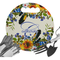 Sunflowers Gardening Knee Cushion (Personalized)