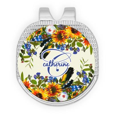 Sunflowers Golf Ball Marker - Hat Clip