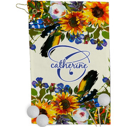 Sunflowers Golf Towel - Full Print (Personalized)