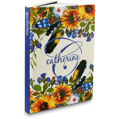 Sunflowers Hardbound Journal (Personalized)