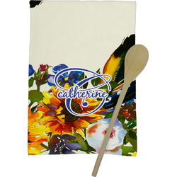 Sunflowers Kitchen Towel - Full Print (Personalized)
