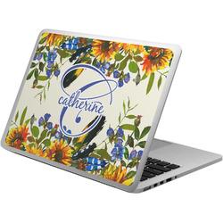 Sunflowers Laptop Skin - Custom Sized (Personalized)
