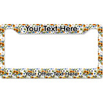 Sunflowers License Plate Frame (Personalized)