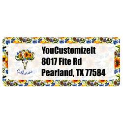Sunflowers Return Address Labels (Personalized)