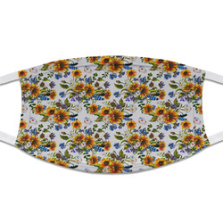 Sunflowers Cloth Face Mask (T-Shirt Fabric) (Personalized)