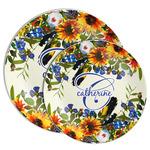 Sunflowers Melamine Plate (Personalized)