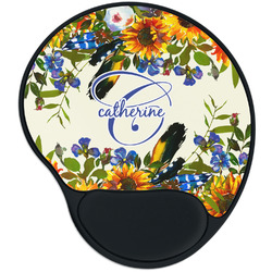 Sunflowers Mouse Pad with Wrist Support