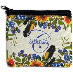 Sunflowers Rectangular Coin Purse (Personalized)