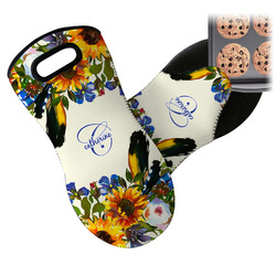 Sunflowers Neoprene Oven Mitt (Personalized)