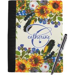 Sunflowers Notebook Padfolio (Personalized)