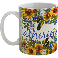 Sunflowers Coffee Mug (Personalized)