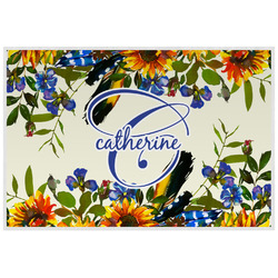 Sunflowers Placemat (Laminated) (Personalized)
