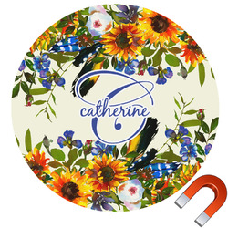 Sunflowers Car Magnet (Personalized)