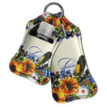 Sunflowers Hand Sanitizer & Keychain Holder (Personalized)