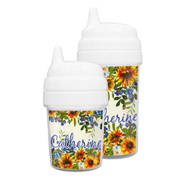Sunflowers Sippy Cup (Personalized)