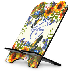 Sunflowers Stylized Tablet Stand (Personalized)