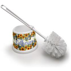 Sunflowers Toilet Brush (Personalized)