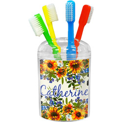 Sunflowers Toothbrush Holder (Personalized)