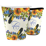 Sunflowers Waste Basket (Personalized)