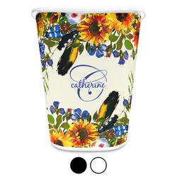 Sunflowers Waste Basket (Personalized)